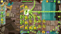 Obrázek ze hry Plants vs. Zombies 2: It's About Time
