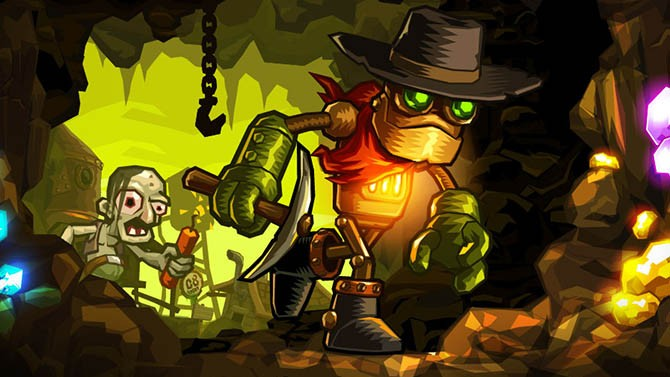 SteamWorld Dig - recenze & let's play